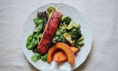 Cook Once, Eat Twice: Salmon + Roasted Winter Veggies Hero Image