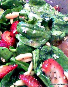 Strawberry and Spinach Salad on MyRecipeMagic.com