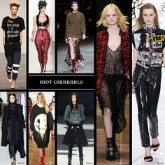 One of our Favorite trends for Fall  Fall 2013 Trend: Punk