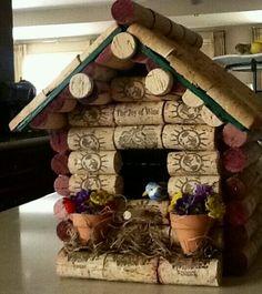 Corky birdhouse!