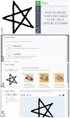 How to upload your own image to Cricut Design Space
