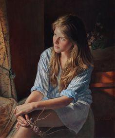 Pintor figurativo americano | Danielle Richard