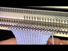 Try out this stretchy, professional-looking bind off technique! This method is good for all knitting machines, matches the e-wrap cast on, and is so easy to ...