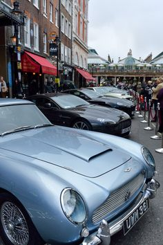 |March 2014| Aston Martin celebrated the opening of the 'Bond in Motion' exhibition at the London Film Museum in Covent Garden. #AstonMartin