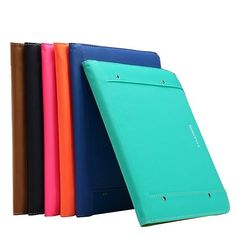 KLD Multifunction PU Leather Wallet Case Cover For iPad Air