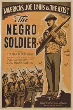 Negro soldier Joe Lewis