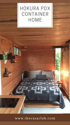 Tiny House Cabin, Tiny House Living, Cabin Homes, Container House Design, Container Houses, Futuristic Home, Modern House Design, Modern Architecture, Small Spaces
