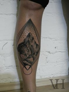 best mountain tattoo i have seen amazing :)