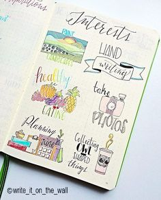 Interests #rockyourhandwriting #leuchtturm #leuchtturm1917 #handdrawn…