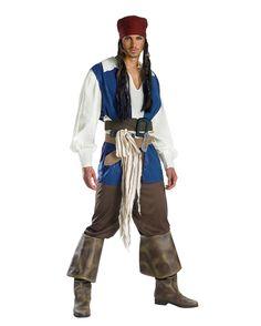 Captain Jack Sparrow Kostüm XL #Pirate #PirateCostume #FluchderKaribik #JackSparrow #PirateCaptain #PiratesoftheCaribbean