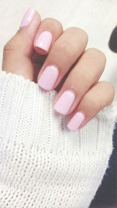 Nice classic nails