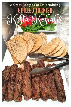 Grilled turkish kofta kebabs Every Middle Eastern country has a version of grilled Kofta Kebabs. It's hard to imagine anything more delicious! Especially with garlicky yogurt sauce! This recipe shows you how to make authentic Turkish Kofta Kebabs at home. Kabob Recipes, Grilling Recipes, Meat Recipes, Cooking Recipes, Recipies, Kofta Kebab Recipe, Shish Kebab, Kebabs, Turkish Kebab