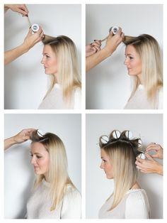 HOW TO HOT ROLL YOUR HAIR - Martha Lynn Kale // Powered by chloédigital