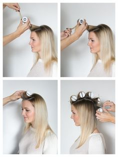 HOW TO HOT ROLL YOUR HAIR - Martha Lynn Kale // Powered by chloédigital