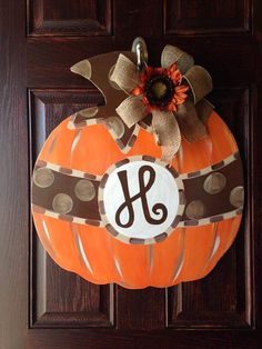Hey, I found this really awesome Etsy listing at https://www.etsy.com/listing/241224889/pumpkin-fall-door-hanger