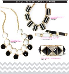 Day or Night in Black and White!  Limited Edition Jewelry by Cookie Lee.  Order today at www.cookielee.biz/charlenelee and have your jewelry delivered directly to you!  #cookielee #jewelry