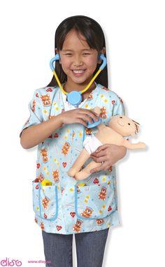 #disfracesinfantiles Disfraces infantiles - Disfraz de pediatra 18519 www.disy.es