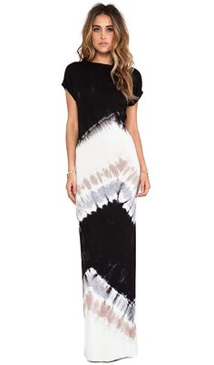 Young, Fabulous & Broke - Jaxon Maxi in Black Macaw Wash - $203.        (Not a fan of the back, but love the colours)