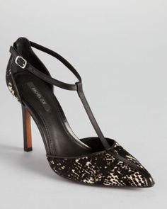 Rachel Zoe Pumps Karolina T Strap - was $295 now $177