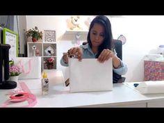 Sacola de papel - passo a passo - YouTube