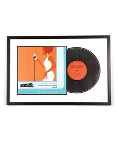 Love this Black Deluxe Record Album Frame on #zulily! #zulilyfinds
