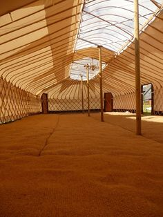 Amazing yurt! www.cheltenhamyurthire.co.uk  Specialists in large yurt hire for events