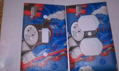 Thomas The Train light switch plate and outlet by SwitchTheOutlet, $6.75