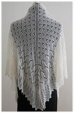 K661– Tahoe Shawl by Nazanin S Fard | Knitting Pattern - Looking for your next project? You're going to love K661– Tahoe Shawl by designer Nazanin S Fard. - via @Craftsy