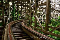Aska at abandoned Nara Dreamland   photo: Micheal John Grist