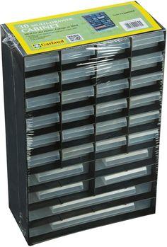 GW14-G0130 30 Multi Drawer Cabinet Organiser ~ Garland DIY Storage Electrical | eBay