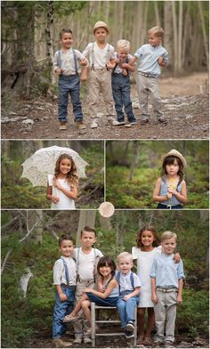 Summer Styled Session in Mt. Charleston {Las Vegas Child Photographer} Great look for a big group of young children Family Picture Poses, Family Photo Sessions, Family Posing, Family Photos, Family Portraits, Cousin Foto, Cousin Photo Shoots, Grandchildren Pictures, Cousin Pictures