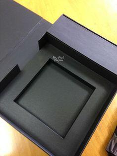 caixa e livro de coleção, book de coleção, portfolio, encadernação macramé, cartonagem