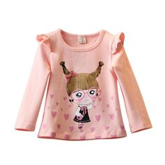 Autumn Cute Baby Girls Kid Toddlers Long Sleeve T-shirts Pullover Warm Tops 2-7T https://t.co/VrzvYdEzRz https://t.co/UU5mbA1zIV