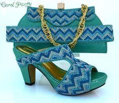 3d9c62a2de2 OLAMICH Sandals Shoes Bag Set Women Italian Fashion Matching Shoe and Bag  Jeans