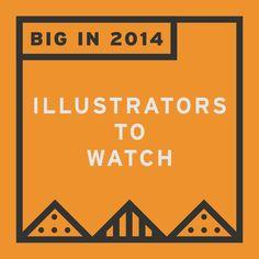 http://benwiseman.tumblr.com/post/104860399526/illustrators-to-watch