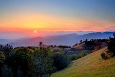 #ridecolorfully #vespa for #katespadeny up Mt Hamilton on the 3 peaks challenge with the Los Gatos Vespa Club