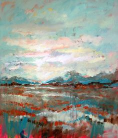 "Saatchi Art Artist Marta Zawadzka; Painting, ""Somewhere - canvas"" #art"