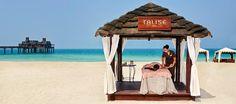 Lush beach spa on Jumeirah Beach