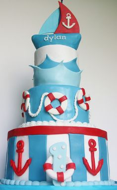 And Everything Sweet: Dylan's Nautical 1st Birthday!
