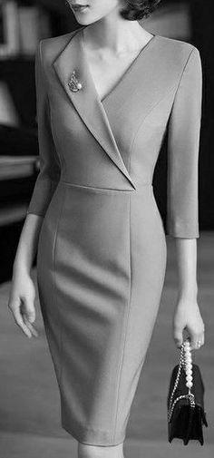 design of blouse & design of blouse ; design of blouse patterns ; design of blouse indian weddings ; design of blouse sleeves Elegant Dresses For Women, Beautiful Dresses, Dresses For Work, Mode Outfits, Dress Outfits, Fashion Dresses, Classy Work Outfits, Classy Dress, Vetement Fashion