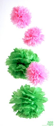 we design for kids Paper Pom Poms, Flamingo Party, Baby Shower Balloons, Deco Table, Gag Gifts, Luau, 1st Birthday Parties, Holidays And Events, Flower Power