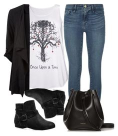"""""""."""" by adorci02 ❤ liked on Polyvore featuring Once Upon a Time, Frame Denim, Avenue and Rachael Ruddick"""