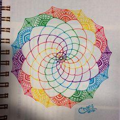 #mandala in progress #zenart #zendala #doodle