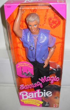 """Released in 1993, Earring Magic Ken became a huge seller among gay men, which was mainly due to the way he was dressed — and the fact that he appeared to be wearing a """"cock ring"""" as a necklace.  He is also the biggest-selling Ken doll of all time."""