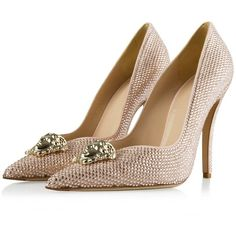 Versace Shoes, Pumps, Heels, Medusa, Palazzo, Swarovski, Weddings, My Style, Polyvore