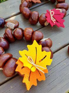 Herbst-Deko: Kastanien-Kränze und andere Ideen Autumn decoration: chestnut wreaths and other ideas – Kerstin and chaos