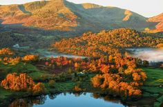 Great Langdale Valley in the Lake District