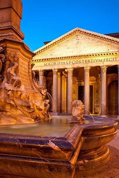 Pantheon, Rome, Italy //  by Brian Jannsen Photography