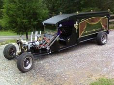 Ford Hearse Rat Rod started life as a 1922 Ford Truck. Chevy 305 engine, 35 1922 Ford Hearse Rat Rod started life as a 1922 Ford Truck. Chevy 305 engine, Ford Hearse Rat Rod started life as a 1922 Ford Truck. Weird Cars, Cool Cars, Crazy Cars, Classic Hot Rod, Classic Cars, Rat Rods, Audi Kombi, Vintage Cars, Antique Cars