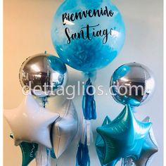 Diseño de globos personalizado para toda ocasion Desserts, Custom Balloons, Balloon Designs, Tailgate Desserts, Deserts, Postres, Dessert, Plated Desserts